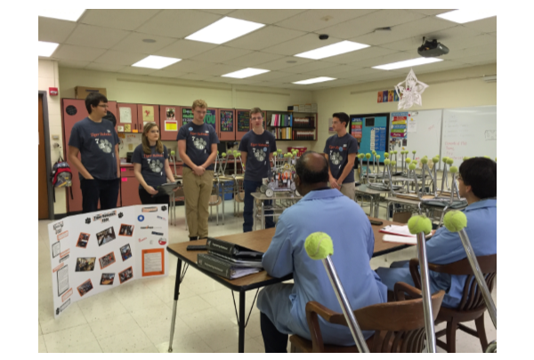 Wheaton Warrenville South High School Robotics Club Student